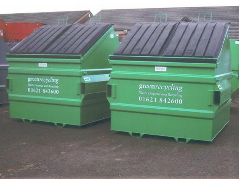 Green Recycling Services Industrial Commercial Waste